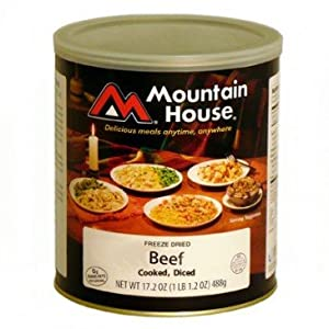 Mountain House Size 10 Can - Diced Beef by Mountain House