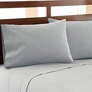 1500 Thread Count Egyptian Quality Duvet Cover Set, 3pc Luxury Soft, All Sizes & Colors, King Blue Gray