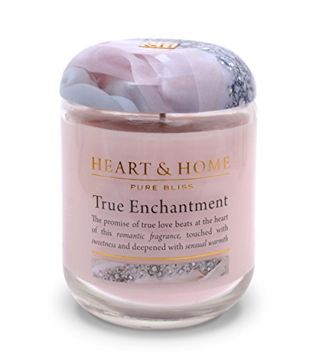 Heart & Home Large Glass Enchantment Candle