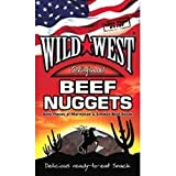 THREE PACKS of Wild West Beef Jerky Nuggets Original 25g