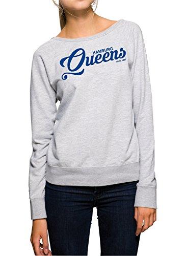 hamburg-queens-sweater-girls-grigio-certified-freak-s