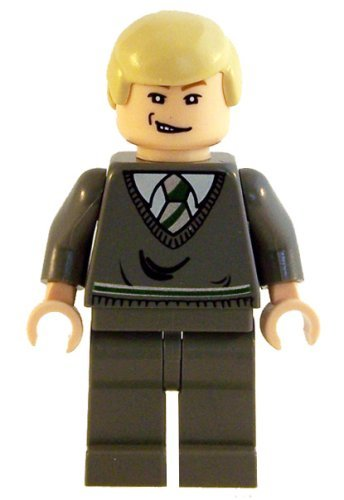 Buy Low Price LEGO Draco Malfoy (Open Mouth Smirk, LF) – LEGO Harry Potter 2″ Figure (B001Q6NUE0)