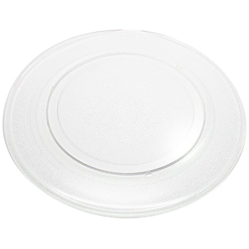 Replacement General Electric / G.E. JEB1860SM1SS Microwave Glass Plate - Compatible General Electric / G.E. WB49X10135 Microwave Glass Turntable Tray - 14 1/8