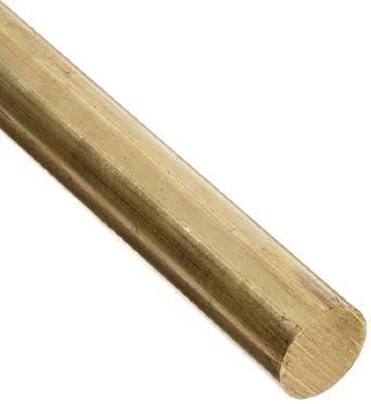 Brass 360 Round Rod, Half Hard Temper, ASTM B16