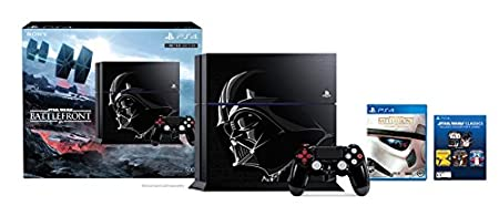 500GB PlayStation 4 Console - Limited Edition Star Wars Battlefront Bundle