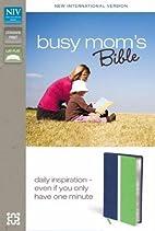NIV*Busy Moms Bible-Blu/Grn DuoTone by…