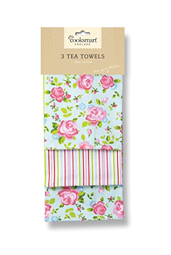cooksmart-tea-towels-pack-of-3-vintage-floral