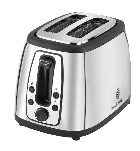 Russell Hobbs TR9198S 2 Slice Toaster, Stainless Steel (Russell Hobbs Toaster compare prices)