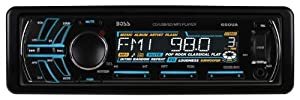 BOSS Audio 650UA In-Dash Single-Din Detachable CD/USB/SD/MP3 Player Receiver with Remote