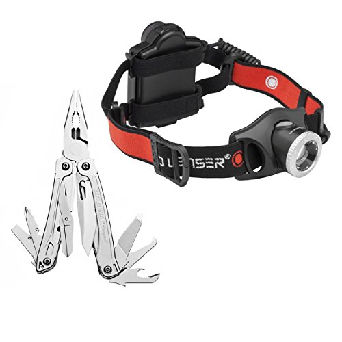 Leatherman 831425 Wingman 14-In-1 Tool W/ Led Lenser H7.2 250 Lumen Headlamp