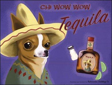 Chi Wow Wow Tequila by Brian Rubenacker