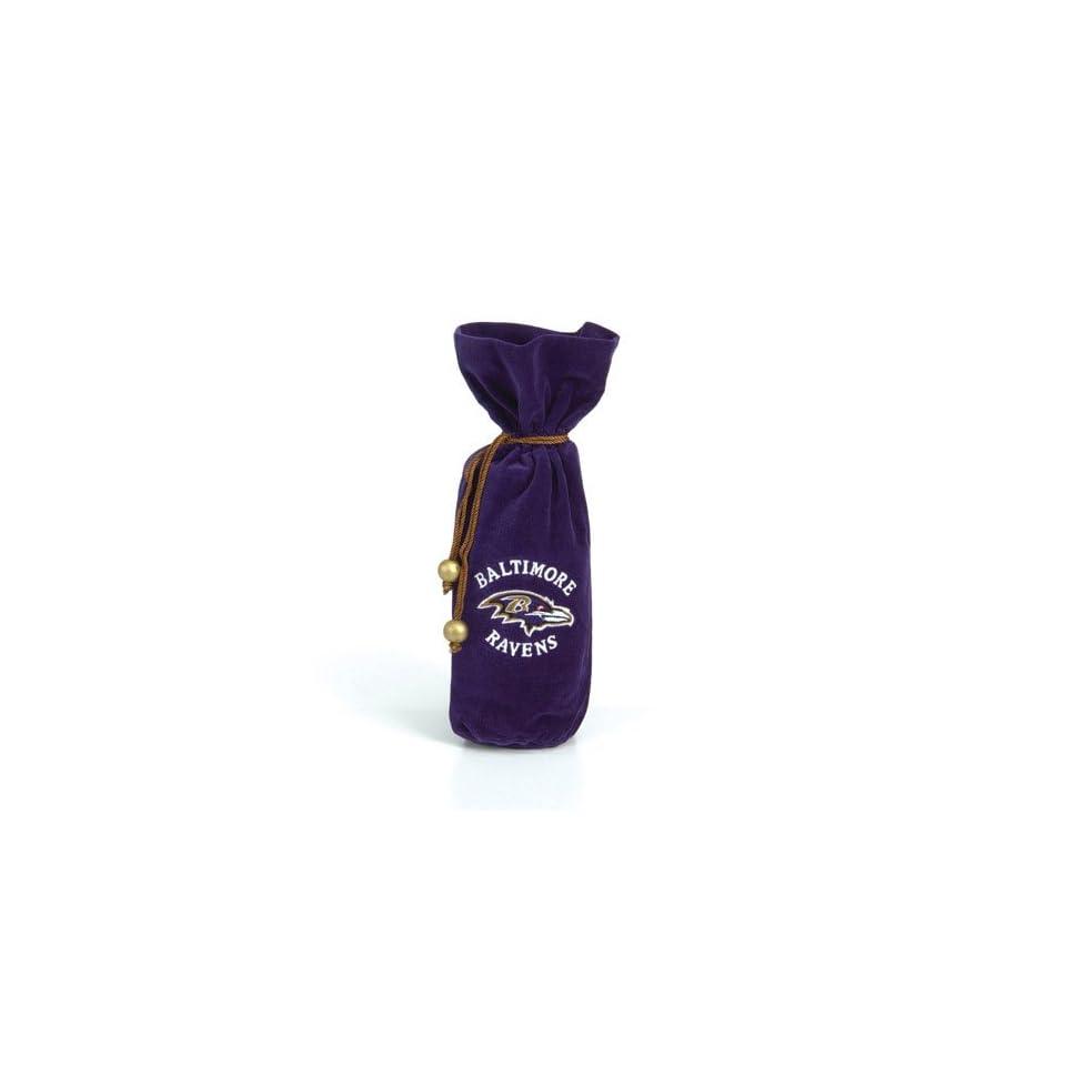 Baltimore Ravens NFL Drawstring Velvet Bag (14 inch)