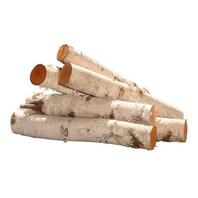 Vickerman Co. Birch Log Bundle Tree