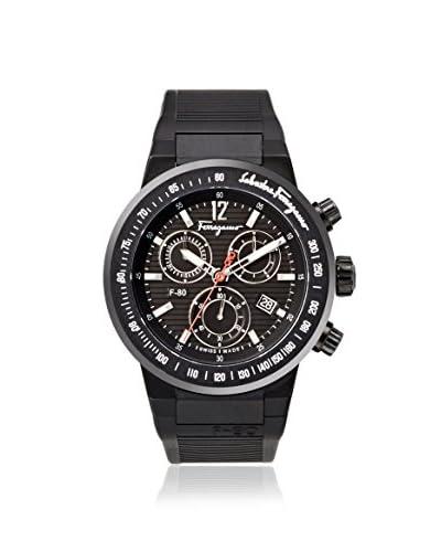 Salvatore Ferragamo Men's F55LCQ6809 S113 Black Rubber Watch
