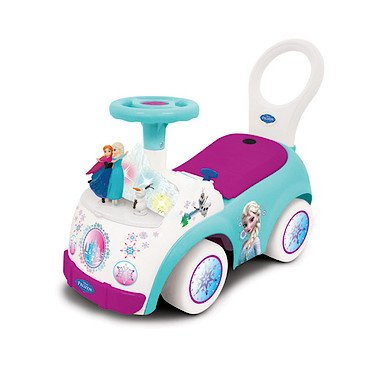 Read About Disney Frozen Elsa & Anna Magical Adventure Activity Toddler Ride-on Toy