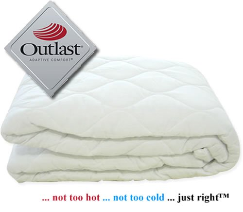 Memory Foam Mattress Hot? Click Here -Outlast Solution Single 3'0. Fantastic Temperature Regulator, Ideal For Warm or Hot Memory Foam Mattresses, Cool Comfortable Sleep.