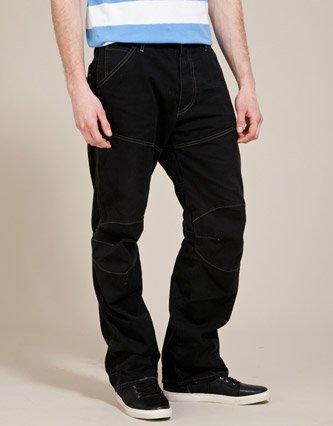 g star 5620 3d loose fit jeans black mens 34w x 36l. Black Bedroom Furniture Sets. Home Design Ideas