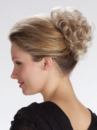 Tony of Beverly Womens Synthetic Hairpiece ''Pin Up''-14: Dark Beige Blonde