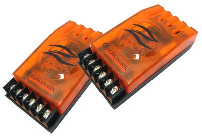 Pczxo - 2-Way Passive Car Audio 12Db/Octave Crossovers Compatible With All Car Audio Component Systems. Made By Alphasonik, Sold In Pairs.