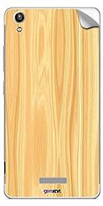 GsmKart LPV1 Mobile Skin for Lava Pixel V1 (Yellow, Pixel V1-971)