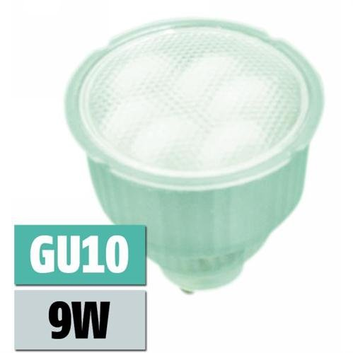 McShine Energiesparlampe GU10, 230V, 9W, T2-Röhren, 35