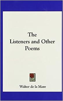 the listeners by walter de la mare essay writer