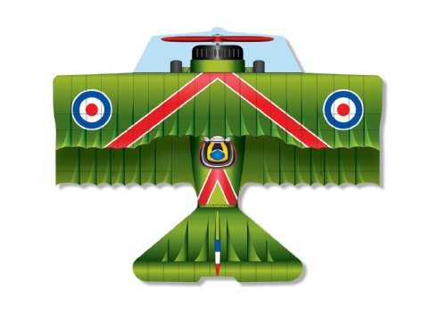 """37 Inch Flying Aces Poly Airplane Kite """"Sopwith Camel"""""""