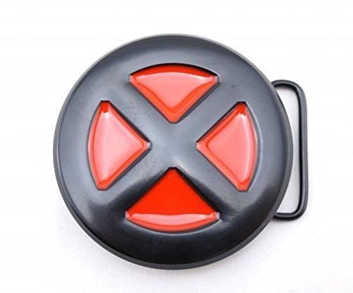 x-men-belt-buckle-red-black-round-x-xmen-xman