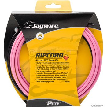 Buy Low Price Jagwire Ripcord DIY Mountain Brake Kit Pink (MCK402)