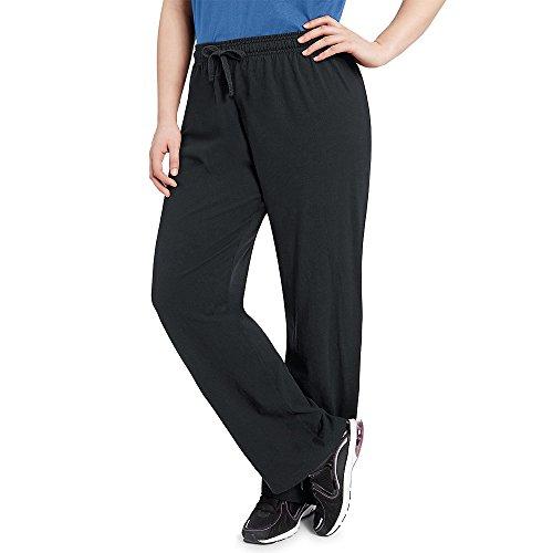 Champion Women's Plus Jersey Pants_Black_2X (Champion 2x Workout Pants compare prices)