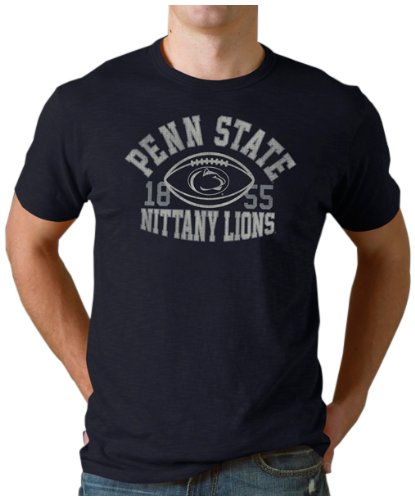 NCAA Penn State Nittany Lions Football Scrum Tee, Navy, Large