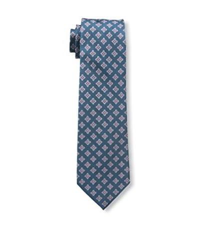 Ben Sherman Men's Quincy Medallion Tie, Purple