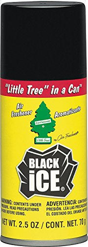Little Tree in a CAN Car Air Freshener 2.5 oz Aerosol Spray, Black Ice Scent (Car In A Can compare prices)