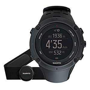 Suunto Ambit3 Peak GPS Heart Rate Monitor Black, One Size - Men's