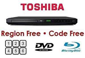 Toshiba Bdx1300rf Region Free DVD & Blu-ray Player