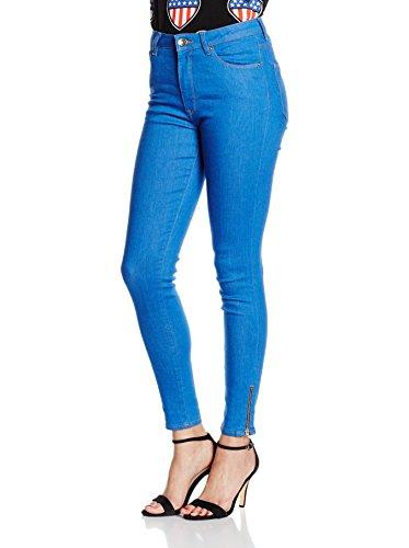 LOVE MOSCHINO 5 Tasche Slim Vita Alta Nuovo, Jeans Donna, ZZCM0098 151c, 27