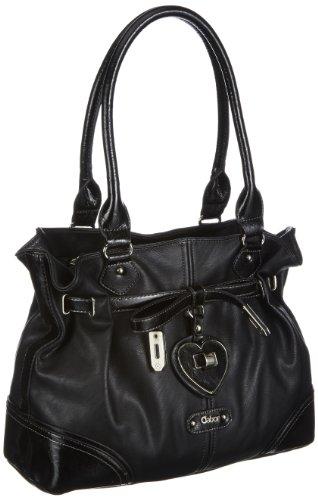 Gabor Rubi Shopper Womens Black Schwarz (schwarz 60) Size: 39x34x11 cm (B x H x T)