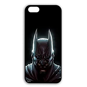 iPhone 7 - 4.7 Inch Hard Plastic Case Protector, iPhone 7 Ultra Thin Cell Phone Casing Art Batman at Gotham City Store
