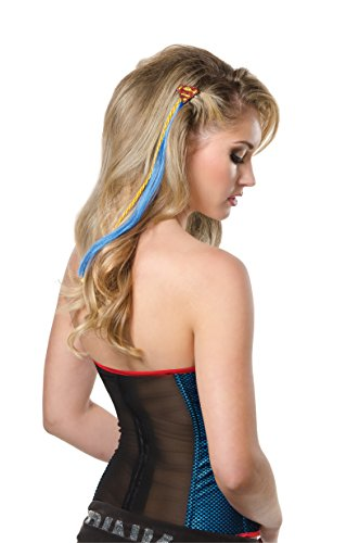 Rubie's Costume Co Women's Dc Superheroes Supergirl Hair Extension