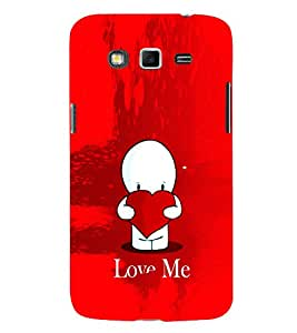 EPICCASE Love Me Mobile Back Case Cover For Samsung Galaxy Grand Max (Designer Case)