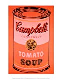 (11x14) Andy Warhol Campbell's Soup Can 1965 Orange Art Print Poster