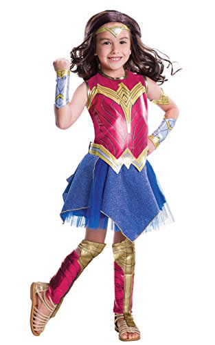 Rubie's Costume Batman vs Superman: Dawn of Justice Deluxe Wonder Woman Costume, Large (Marvel Comic Boots compare prices)