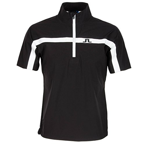 j-lindeberg-camiseta-de-swing-de-manga-corta-impermeable-hombre-color-negro-tamano-medium