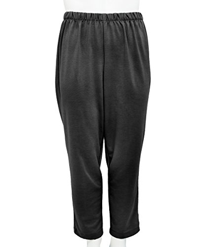 Womens Adaptive Wheelchair Users Pant - Disabled Clothes - Black LGE (Wheelchair Clothing compare prices)