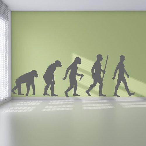 evolucion-del-hombre-pegatina-de-pared-arte-de-pared-decorativo-disponible-en-5-tamanos-y-25-colores