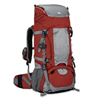 High Sierra Seeker Frame Backpack, Pomodoro/Ash/Black