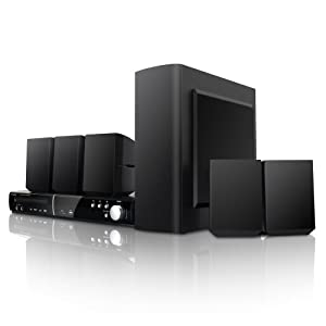 Coby DVD938 5.1-Channel DVD Home Theater System (Black)