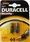 Duracell 12 Volt Alkaline Alarm Remote Battery MN21 / A23 2 Pack(Counts 1)