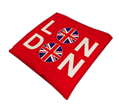 British Style Cotton Square Seasons Car Seat Cushions, Flag (British Flag Car Seat Covers compare prices)
