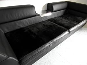 echt lammfell couchauflage in dunkelbraun sofa berwurf auch f r sessel k che. Black Bedroom Furniture Sets. Home Design Ideas